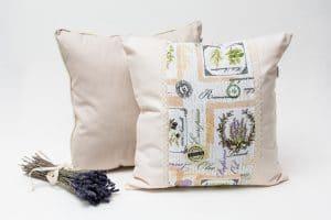 Perna aromatica cu flori de lavanda Lavandula si Eva