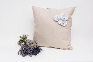 Perna aromaterapie cu lavanda Florence Bej