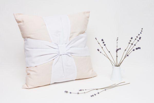 Perna aromaterapie cu Lavanda Elegance Bej-Alb