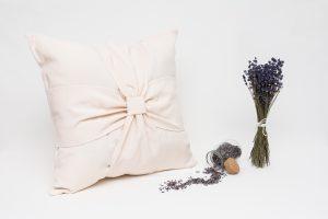 Perna aromaterapie cu lavanda Elegance Bej - Bej