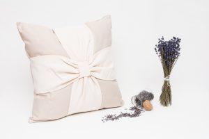 Perna aromaterapie cu lavanda Elegance Bej-Nude