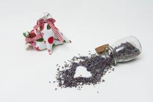 Saculet aromatic Buline si Stelute cu inflorescenta de lavanda