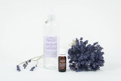 Apa florala - Ulei esential de lavanda