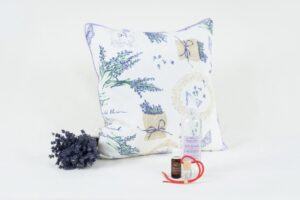 Perna cu lavanda - Ulei esential de lavanda - Apa florala de lavanda