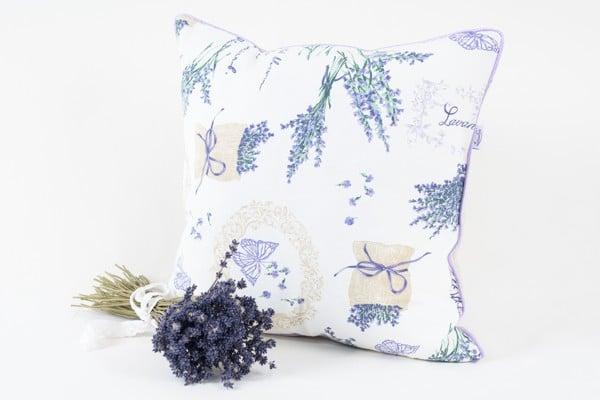 Perna aromatica cu lavanda - flori de maci