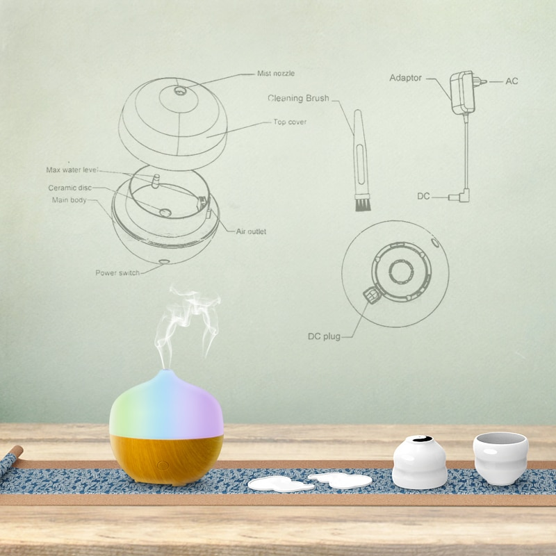 Difuzor aromaterapie Aruna 3
