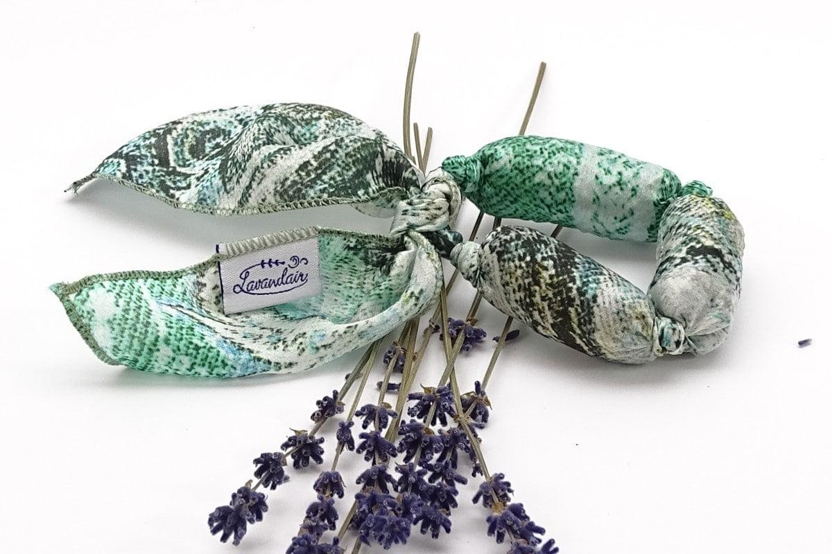 Bratara aromatica cu lavanda mint green