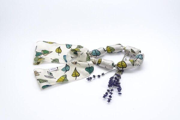 Colier aromatic cu lavanda - frunze
