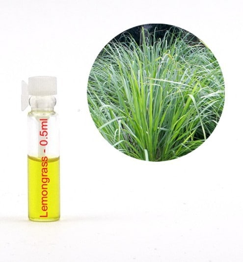 Ulei esential de lemongrass - tester