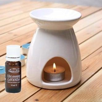 Aromaterapie cu ulei de lavandă