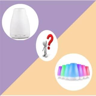 Difuzor de aromaterapie cu si fara iluminare