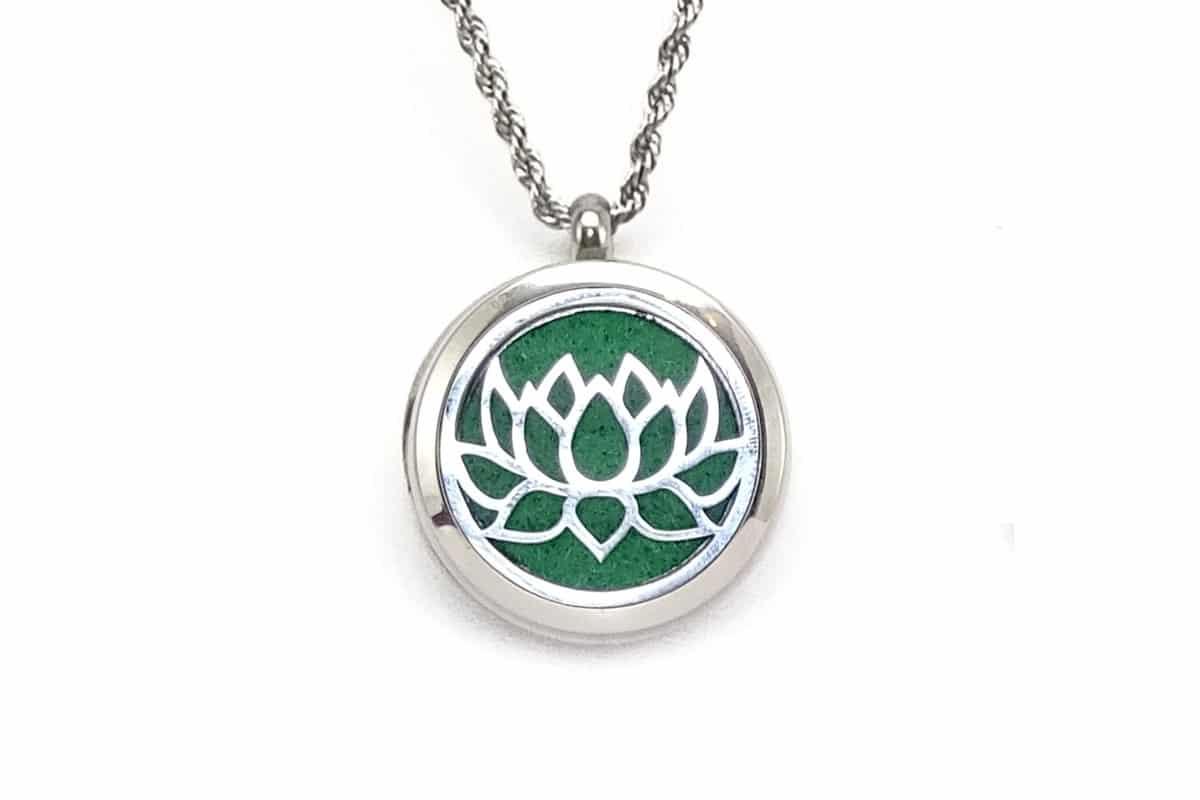 Colier aromatic INOX Lotus