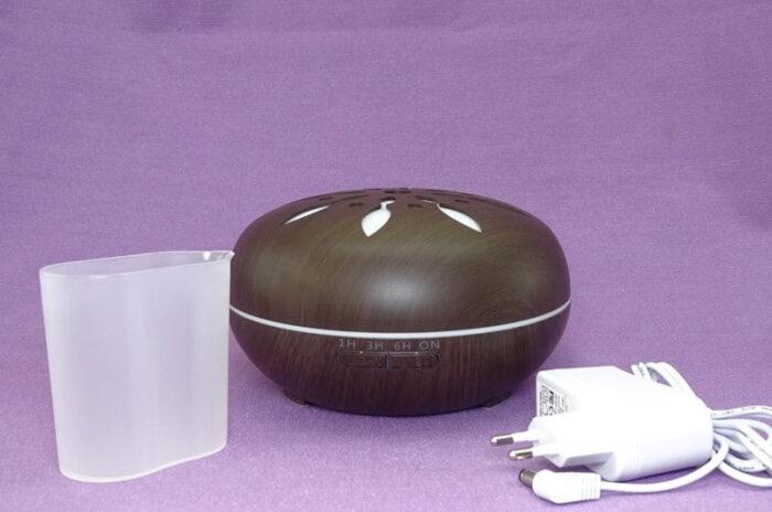 Continut cutie difuzor de aromaterapie peabble wenge