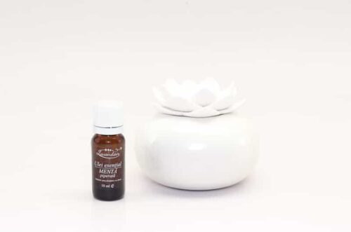 Difuzor aromaterapie Lotus WW cu ulei de menta