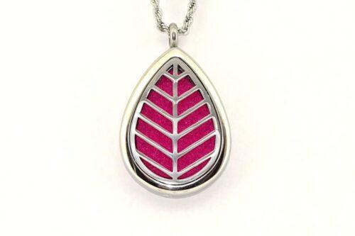 colier-aromaterapie-inox-Leaf