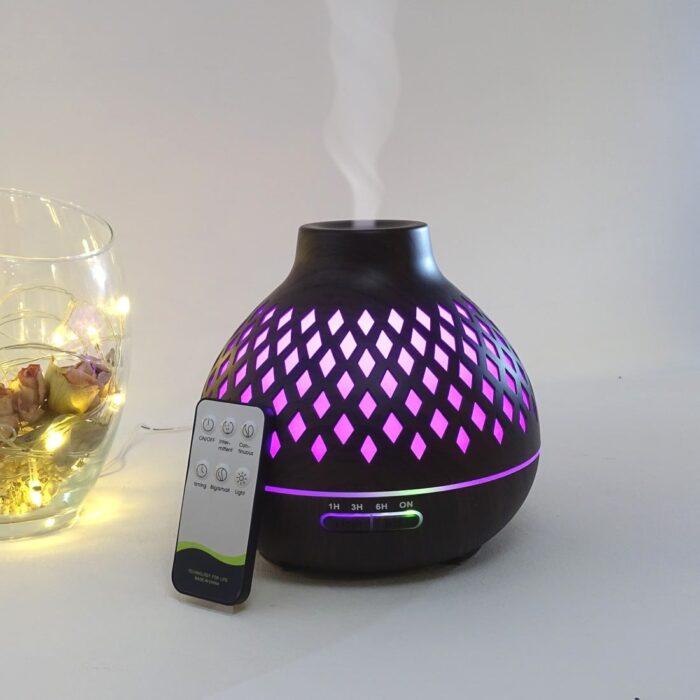 difuzor-aromaterapie-lampion-romb-alb